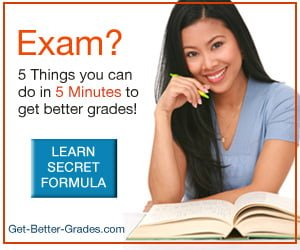 5 things you can do in 5 minutes to get Better Grades!